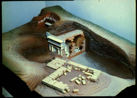 Docs >> Model reconstruction of the Royal Tombs of Vergina.